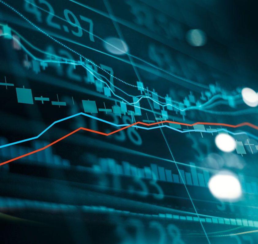 Technical stock chart